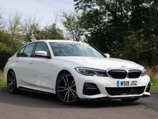 BMW 3 Series 320d M Sport Saloon Comfort Package BMW Nav 2019, 6500 miles, £31950