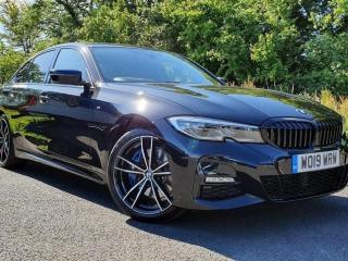 BMW 3 Series 320d M Sport Saloon Technology Package BMW Nav 2019, 9000 miles, £31950