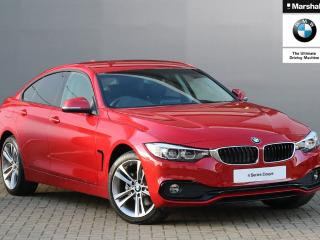 BMW 4 Series 420d [190] xDrive Sport 5dr Auto [Business Media] Hatchback 2019, 299 miles, £26790