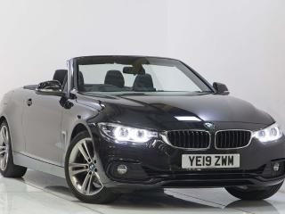 BMW 4 Series 420i Sport Convertible Auto HEATED SEATS & STEERING WHEEL! 2019, 4935 miles, £24750