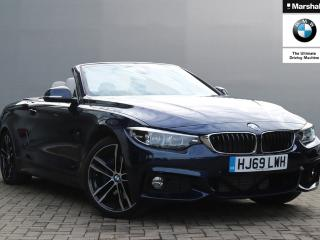 BMW 4 Series 420d [190] M Sport 2dr Auto [Professional Media] Convertible 2019, 2998 miles, £34989