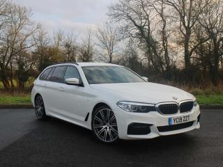 BMW 5 Series 520d xDrive M Sport Touring Heated seats and navigation 2019, 12 miles, £30777