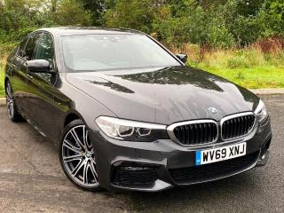 BMW 5 Series 530d M Sport Saloon Comfort Package M Sport Plus 2019, 99 miles, £45900