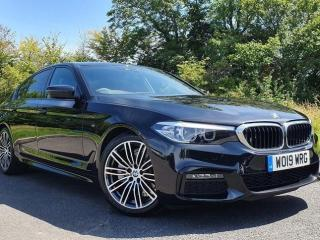 BMW 5 Series 520d M Sport Saloon M Sport Plus Package 2019, 12586 miles, £31444