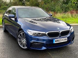 BMW 5 Series 520d xDrive M Sport Saloon Demonstrator 2019, 1500 miles, £34999