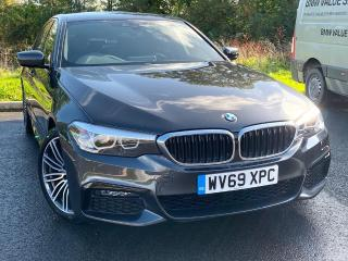 BMW 5 Series 520d M Sport Saloon Demonstrator 2019, 1500 miles, £33499
