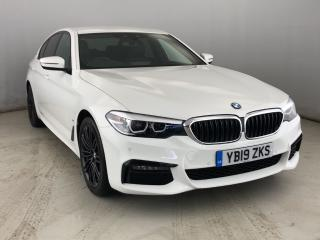 BMW 5 Series 530e M Sport iPerformance Saloon PRO NAV, LEATHER, 19' ALLOYS 2019, 9896 miles, £28950