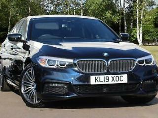2019 BMW 5 Series 530e M Sport iPerformance Saloon PETROL/ELECTRIC black Automat