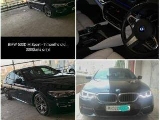 Brown 2019 BMW 5 Series 530d Highline 4000 kms driven in Vashi