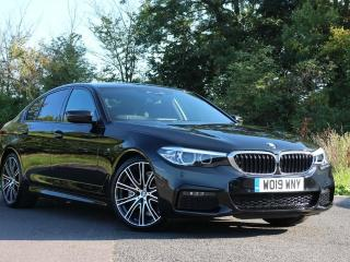 BMW 5 Series 520i M Sport Saloon Technology Pack M Sport Plus 2019, 4348 miles, £29999