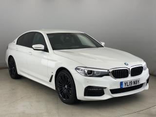 BMW 5 Series 530e M Sport iPerformance Saloon PRO NAV, LEATHER, ELEC SEATS 2019, 9482 miles, £28950
