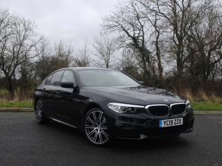 BMW 5 Series 530e M Sport iPerformance Saloon Heated seat and steering wheel 2019, 7103 miles, £31777