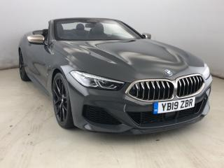 BMW 8 Series M850i xDrive Convertible 2019, 7814 miles, £71995