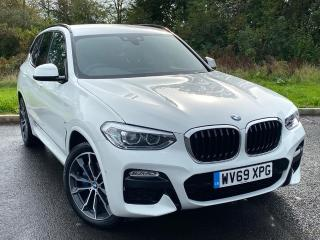 BMW X3 2.0 20d M Sport SUV 5dr Diesel Auto xDrive s/s 190 ps Demonstrator 2019, 1224 miles, £35995