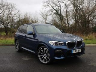 BMW X3 X3 xDrive20d M Sport Heated seats and navigation 2019, 2634 miles, £33333
