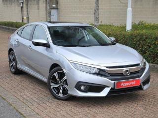 Honda Civic 4 Door Saloon 1.6 i DTEC EX Saloon 2019, 14780 miles, £17984