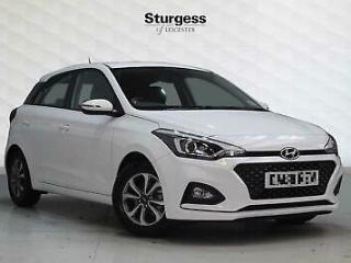 2019 Hyundai i20 5 Door 1.2 MPi 84ps PLAY Petrol white Manual