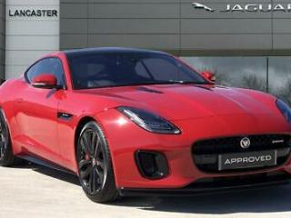 2019 Jaguar F TYPE V6 R DYNAMIC Petrol red Automatic