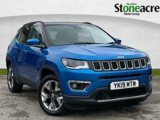 2019 Jeep Compass 1.6 Limited SUV 5dr Diesel Manual 134 g/km, 118 bhp