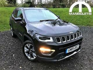 2019 Jeep Compass 2.0 MultiJetII Limited Auto 4WD s/s 5dr Diesel black Automat