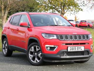 Jeep Compass 1.6 MultiJetII Limited s/s 5dr Station Wagon 2019, 2000 miles, £22490