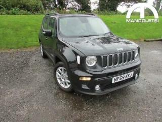 2019 Jeep Renegade 1.3 GSE T4 Longitude DDCT s/s 5dr Petrol Automatic