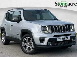 2019 Jeep Renegade 1.6 MultiJetII Limited SUV 5dr Diesel s/s 120 ps