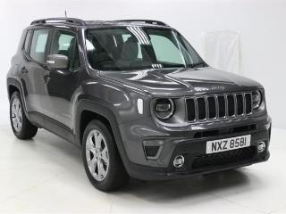 Jeep Renegade 1.6 Multijet Limited 5Dr SUV 2019, 2 miles, £19950