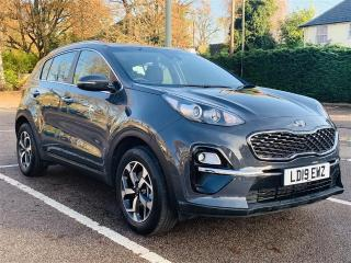 Kia Sportage 1.6 GDI 2 S/S 5DR SAT NAV + CAMERA | 7.9% APR AVAILABLE ON THIS CAR | 4X4 2019, 12513 miles, £16999