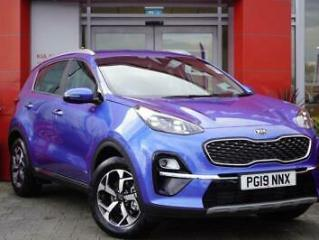 2019 Kia Sportage 1.6 GDi ISG Edition 25 5dr Estate 5 door Estate