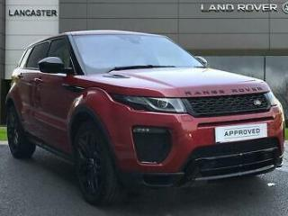 2019 Land Rover Range Rover Evoque TD4 HSE DYNAMIC Diesel red Automatic
