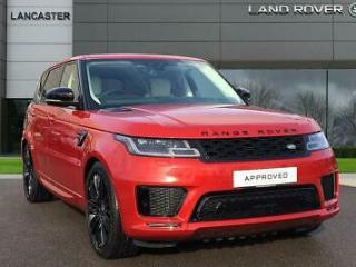 2019 Land Rover Range Rover Sport SDV6 HSE DYNAMIC Diesel red Automatic