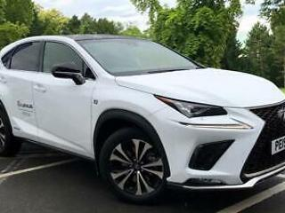 2019 Lexus NX 300h 2.5 F Sport Premium Pack with Leather and Panroof
