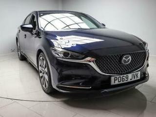 2019 Mazda 6 2.5 194PS GT SPORT NAV PLUS Automatic Saloon