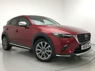 2019 Mazda CX 3 2.0 GT Sport Nav + 5dr Petrol red Manual