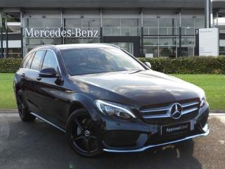 Mercedes Benz C Class C220d 4MATIC Nightfall Edition 5dr Auto Estate 2019, 4219 miles, £26000