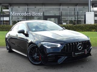 Mercedes Benz CL Class CLA CLA 45 S 4Matic+ Plus 4dr Tip Auto Saloon 2019, 350 miles, £54950