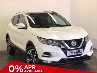 Nissan Qashqai 1.5 dCi 115 N Connecta 5 door [Glass Roof Pack] SUV 2019, 6299 miles, £18189