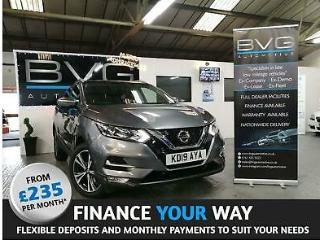 2019 Nissan Qashqai 1.3 DIG T N Connecta s/s 5dr