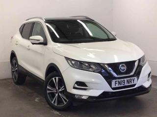 Nissan Qashqai 1.5 dCi 115 N Connecta 5 door [Glass Roof Pack] SUV 2019, 4689 miles, £18289