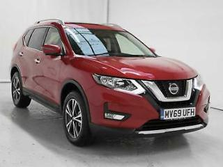 2019 Nissan X Trail 1.7dCi 150ps N Connecta 5 Seat Diesel red Automatic