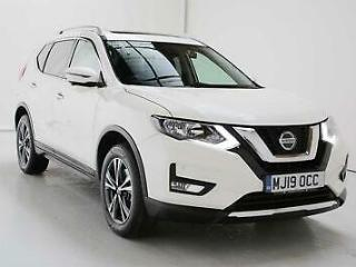 2019 Nissan X Trail 1.7dCi 150ps N Connecta 5 Seat Diesel white Manual