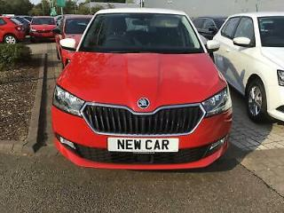 2019 Skoda Fabia Fabia Hatch SE L 1.0 TSI 110 PS 6G Man Petrol red Manual