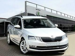2019 Skoda Octavia Estate 2017 1.6 TDI 115 PS SE L Diesel silver Manual