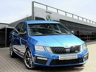 2019 Skoda Octavia vRS Hatch 2017 2.0 TSI vRS 245 Petrol blue Manual