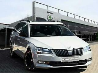 2019 Skoda Superb 2.0 TSI 272ps 4X4 SportLine Plus DSG Estate Petrol grey Semi A