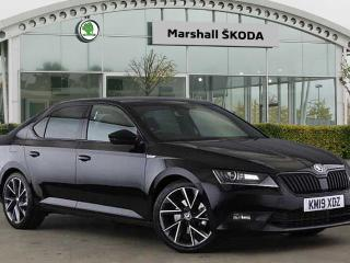 Skoda Superb 2.0 TDI CR 190 Sport Line Plus 4X4 5dr DSG 7 Speed Hatchback 2019, 6429 miles, £25495