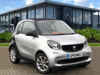Smart Fortwo COUPE 1.0 Passion 2Dr Auto City Car 2019, 529 miles, £10479