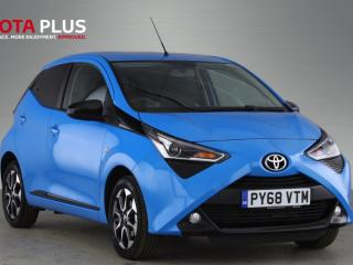 Toyota Aygo 1.0 VVT i X Trend 5dr, Apple Car Play Android Auto Hatchback 2019, 3193 miles, £9991