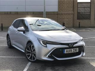 Toyota Corolla Excel Vvt I Hev C Hybrid with ONLY 1081 miles Hatchback 2019, 1081 miles, £25000